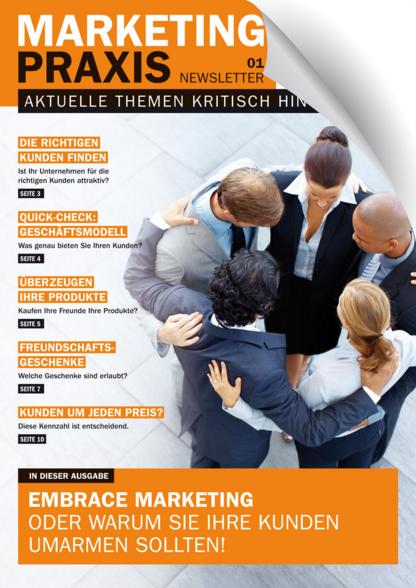 Marketing-Praxis Print-Newsletter Nr. 1