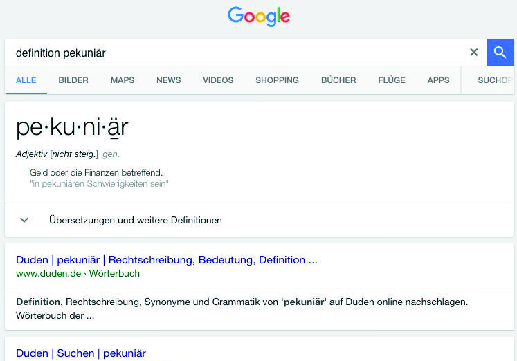 Google Definition The Information Factory